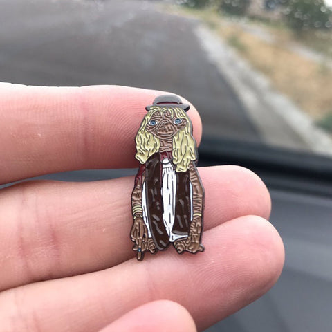 Dressed Up Extra-Terrestrial Pin