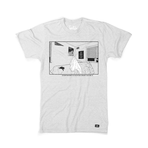 Bedroom Ghost Shirt (Ash)