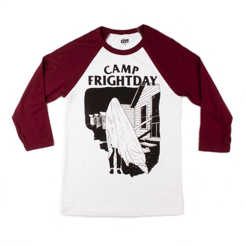 Camp Frightday Baseball Shirt