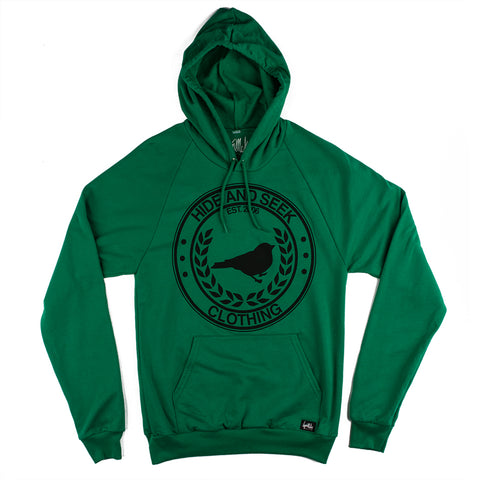 Green Classic Logo Pullover