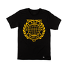 Black & Gold Logo Tee
