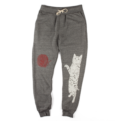 Caturday Sweats (Athletic Grey)
