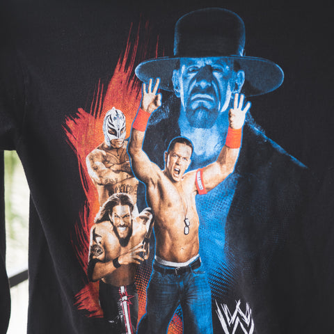 The Undertaker Hates Jean Shorts Long Sleeve