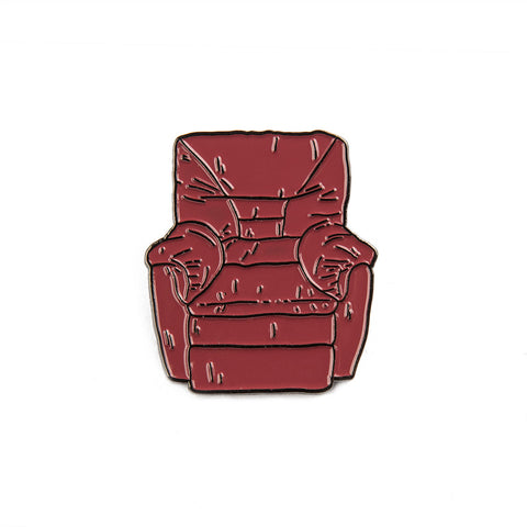 Puffy Chair Enamel Pin