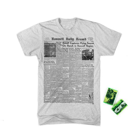 Roswell Daily Record's Big Day/The Roswell Incident Tape Bundle