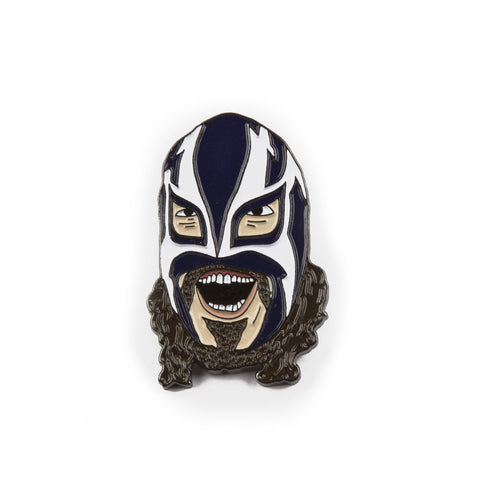 Wrestlin' Fred Enamel Pin