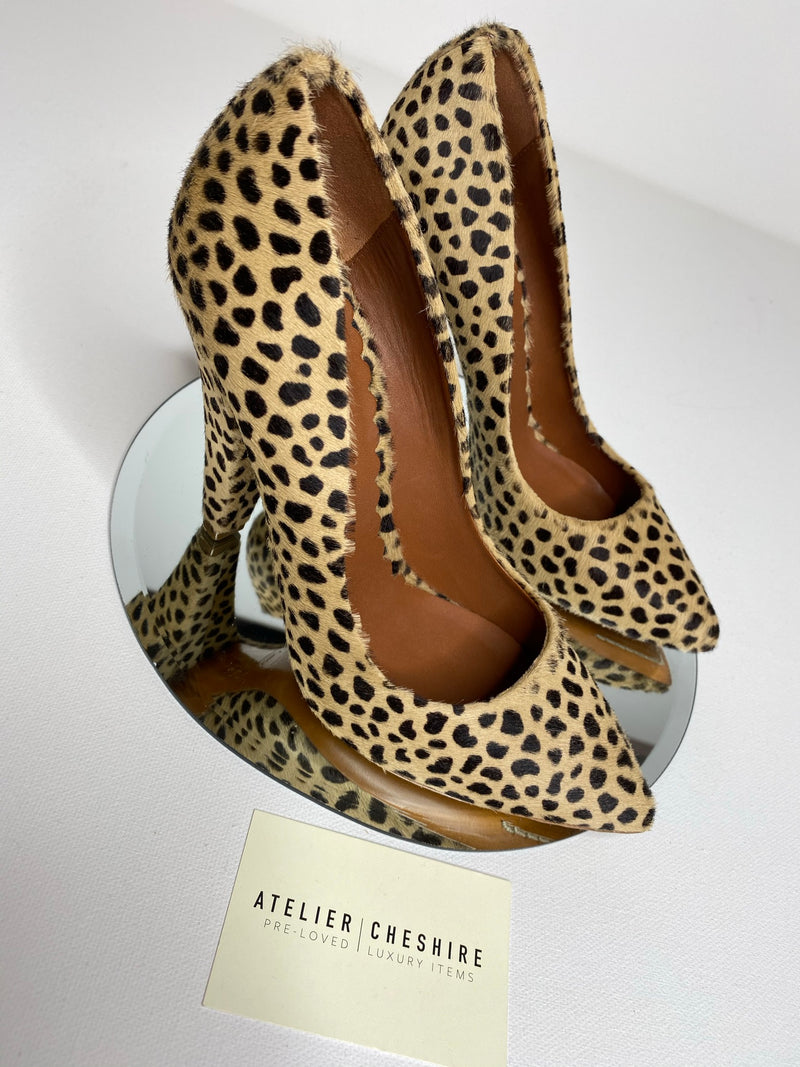 Mulberry Ponyhair Pumps (Size 38.5)