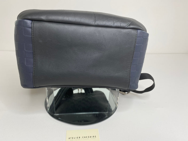 Louis Vuitton Avenue Backpack Damier Infini in Blue