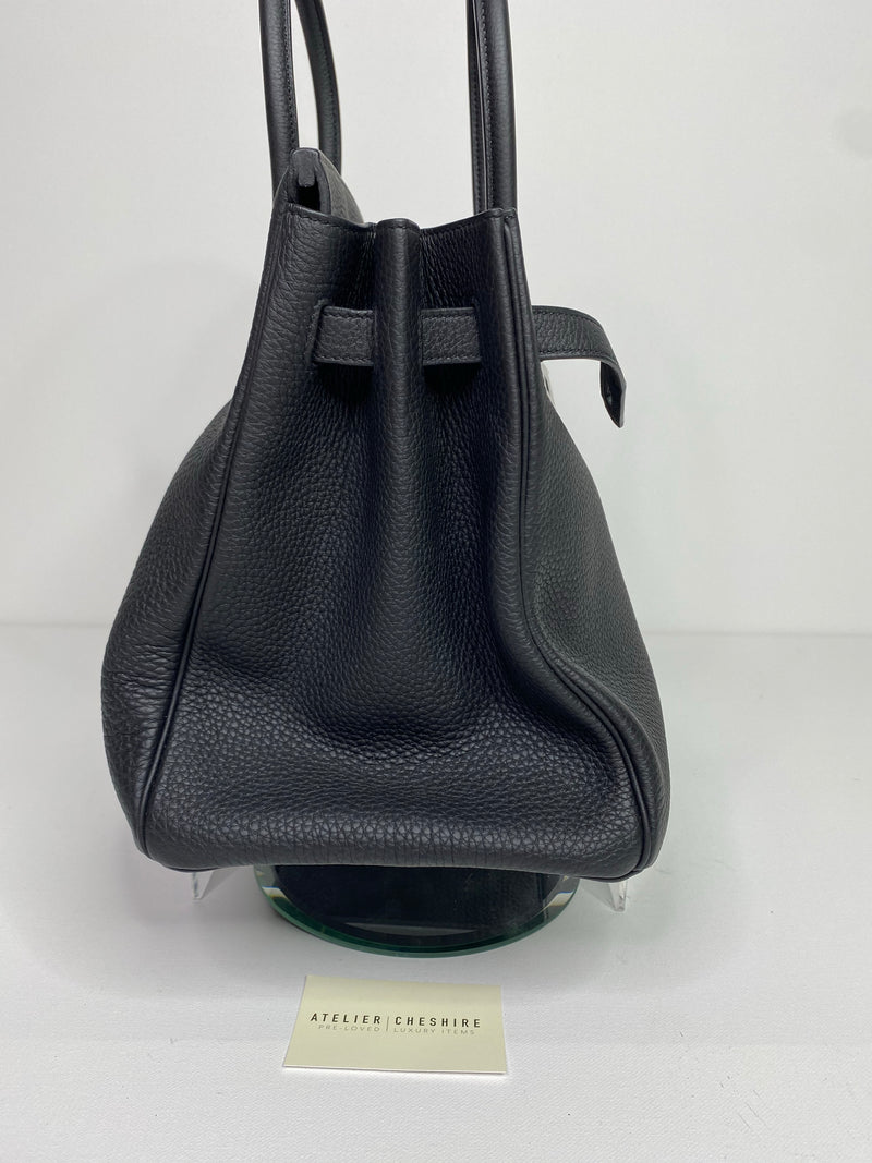 Hermes Birkin 35cm in Black Togo with Palladium Hardware (NEVER USED)