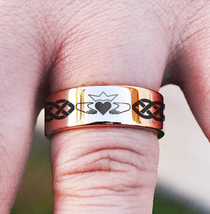everaftercreative Ring Claddagh ring, mens claddagh ring, ladies claddagh ring, womens claddagh ring