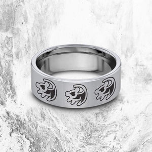 everaftercreative Ring Disney The Lion King Engagement Ring, Simba Ring, Disney Wedding Ring, Disney Lion King Promise Ring
