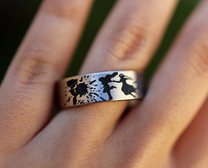 everaftercreative Ring Howls Moving Castle Ring, Studio Ghibli Ring, Studio Ghibli Totoro Ring, Chihiro Ring, Ghibli Ring.