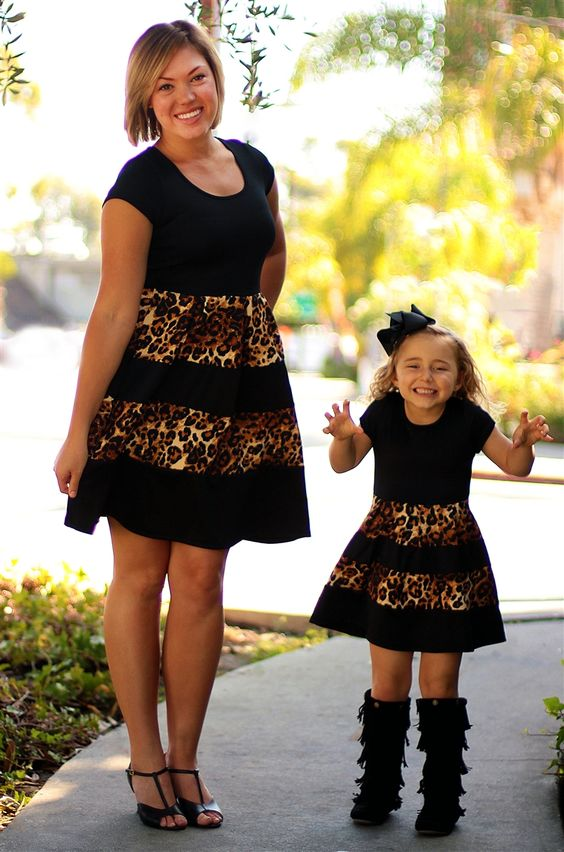 Mother Daughter Dress Style 23