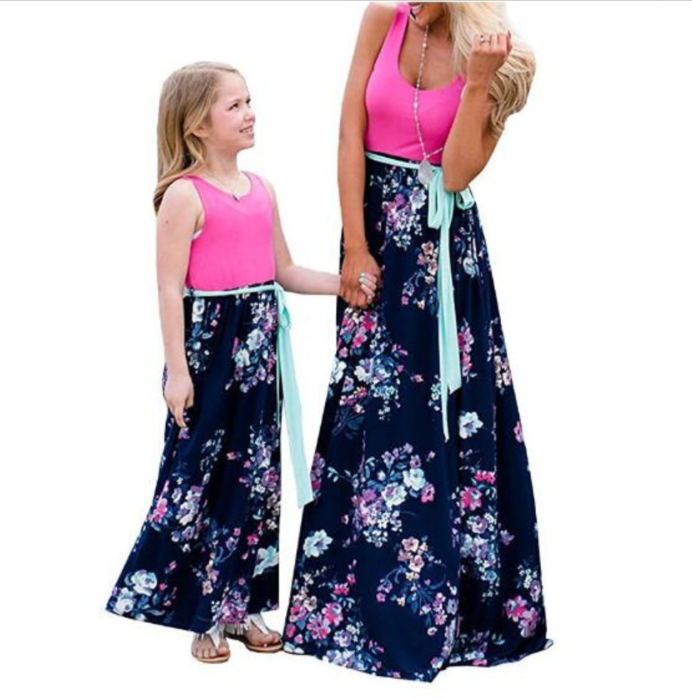 Mother and Daughter Dress Set Style 29