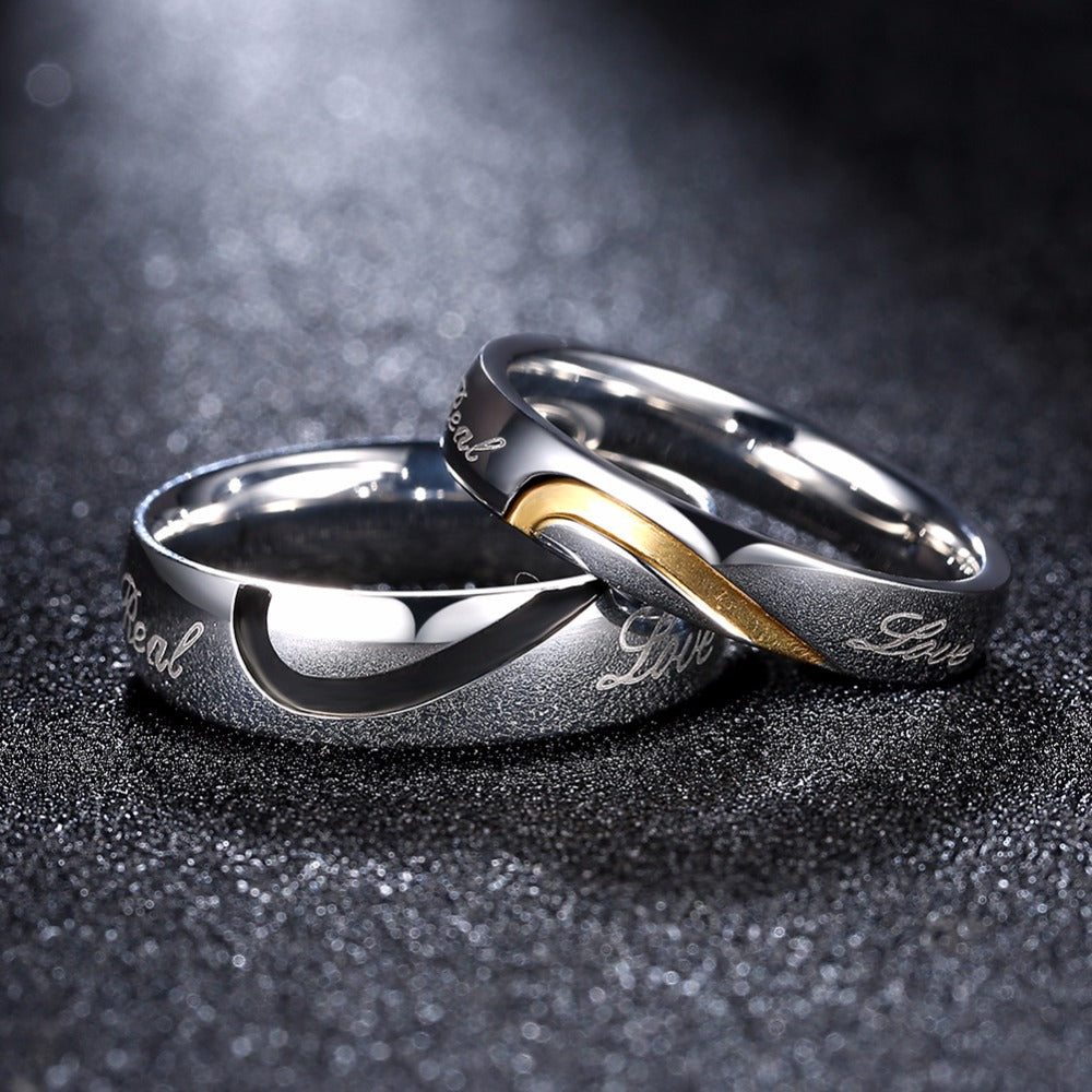 Real Love Couples Rings