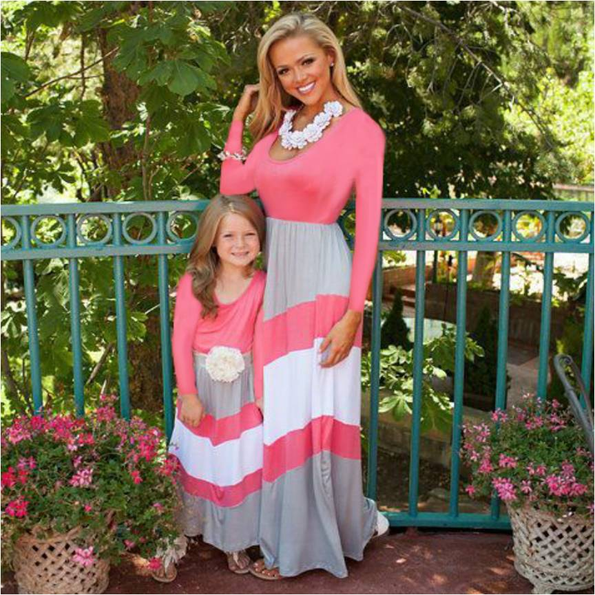 Mother Daughter Dress Style 2 Long