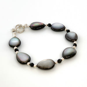 Mother of Pearl & Swarovski Bracelet