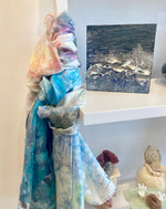 Load image into Gallery viewer, Hand-Dyed Silk Scarf