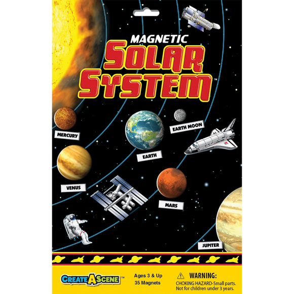 Create a Scene- Magnetic Solar System