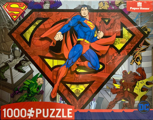 Paperhouse Puzzles - Superman and Villians