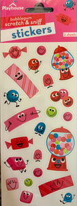 Bubble Gum Scratch & Sniff Stickers