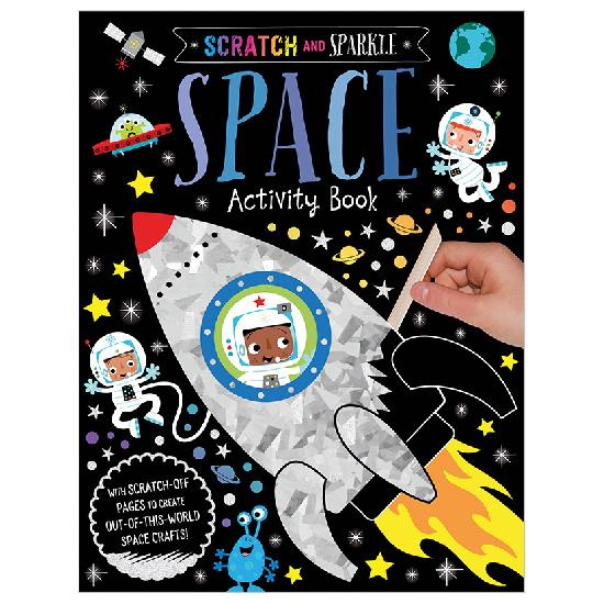 Scratch and Sparkle: Space Activity Book