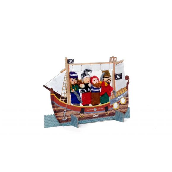 Pirates Finger Puppets