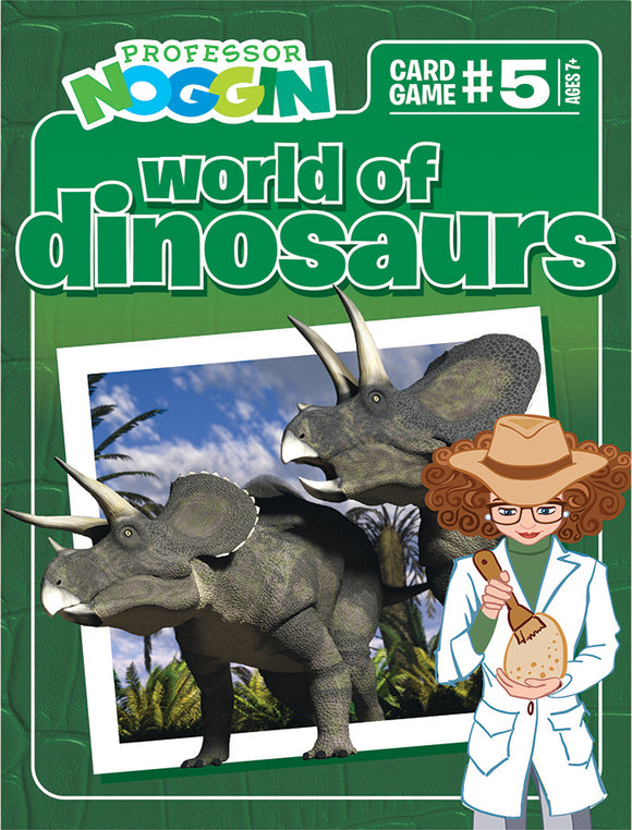 Professor Noggin's: World of Dinosaurs