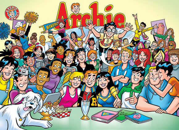 Cobble Hill Puzzle- Archie: The Gang at Pop's