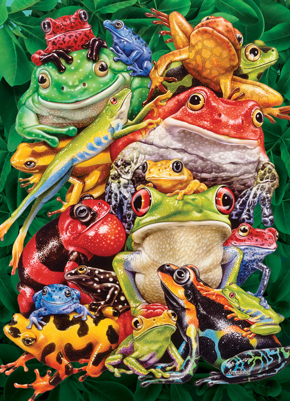Cobble Hill Puzzle- Frog Business