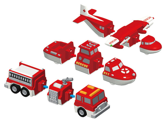 Mix or Match Vehicles: Fire & Rescue