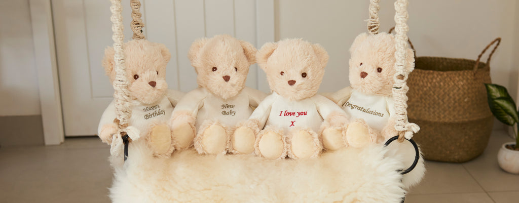 "Warmies® Sentiments Bears (9"")"