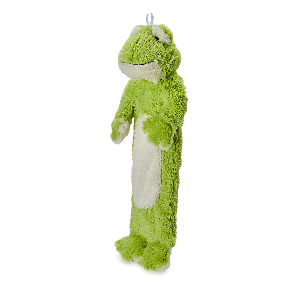 Warmies® 3D Hot Water Bottle Frog, Simply add Hot Water