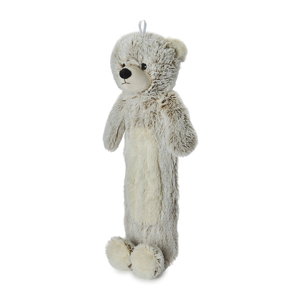 Warmies® 3D Hot Water Bottle Marshmallow Bear, Simply add Hot Water