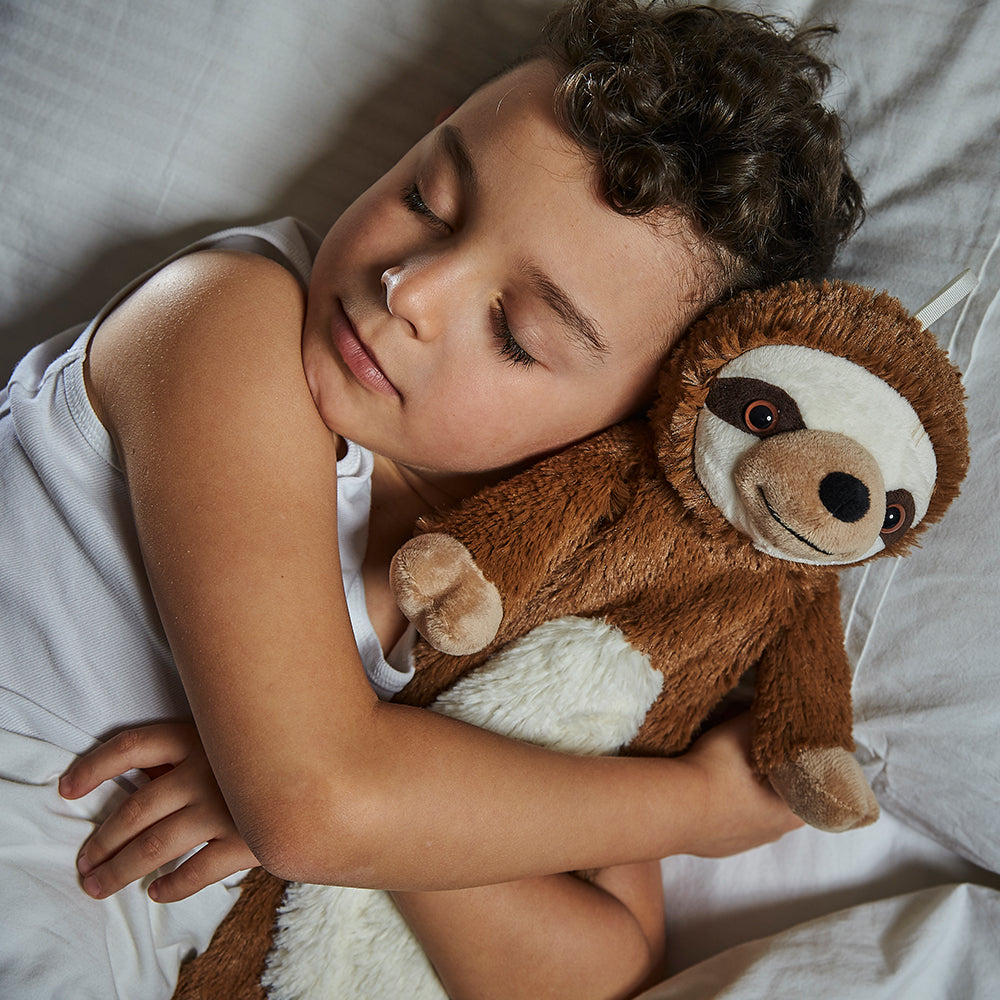 Warmies® 3D Hot Water Bottle Sloth, Simply add Hot Water