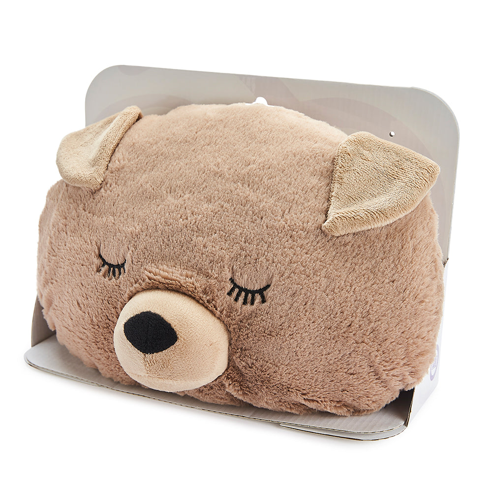 Warmies® Fully Microwaveable Puppy Handwarmer, Relaxing Lavender Scented Heatable Soft Cuddly Puppy