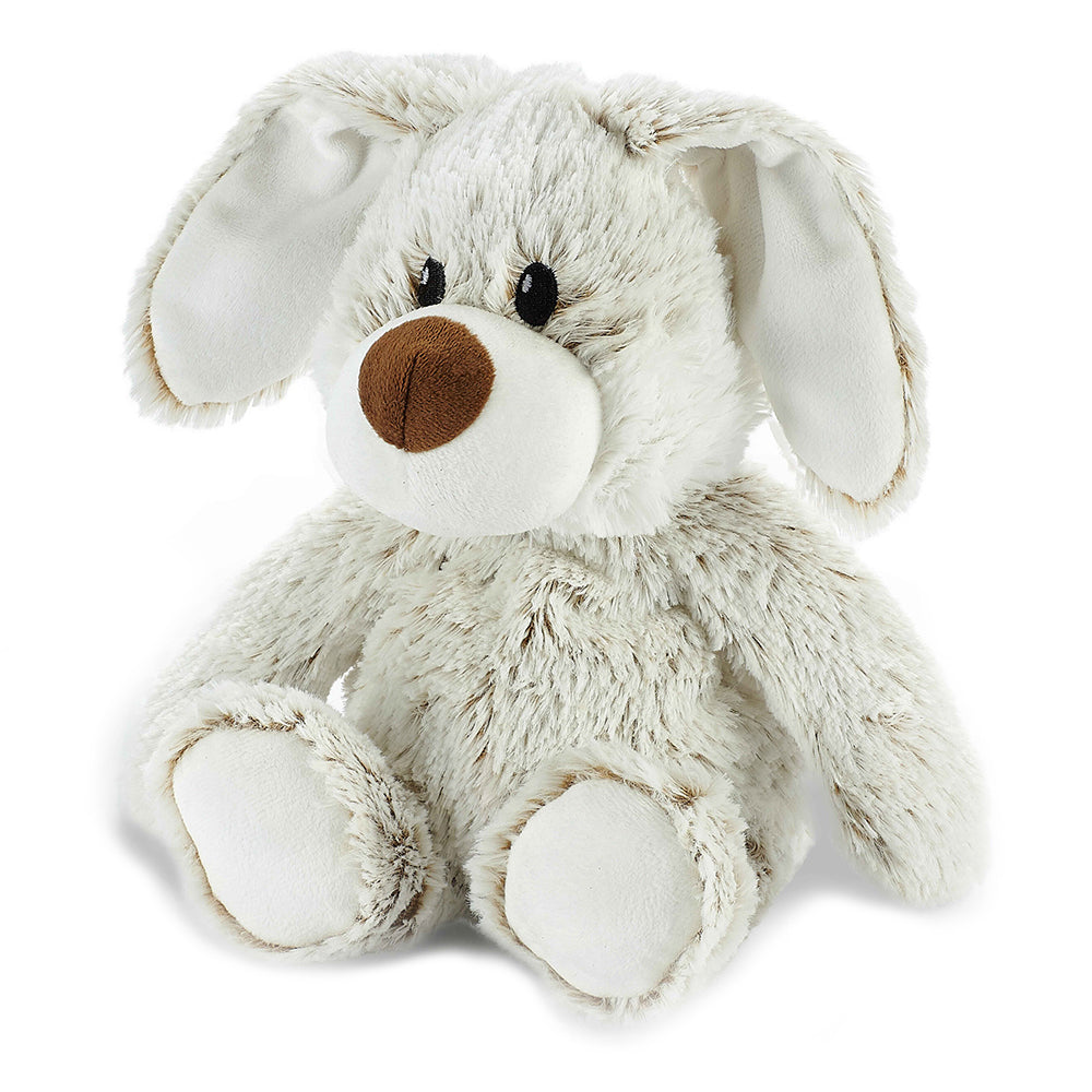 Warmies® Fully Microwaveable Plush Toy Marshmallow Bunny, Heatable Soft Cuddly Teddy With Relaxing Lavender Scent