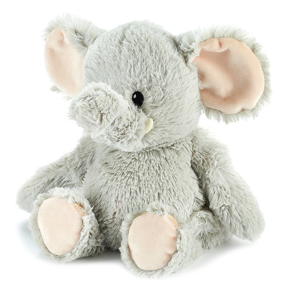 Warmies® Fully Microwaveable Plush Toy Elephant, Heatable Soft Cuddly Teddy With Relaxing Lavender Scent