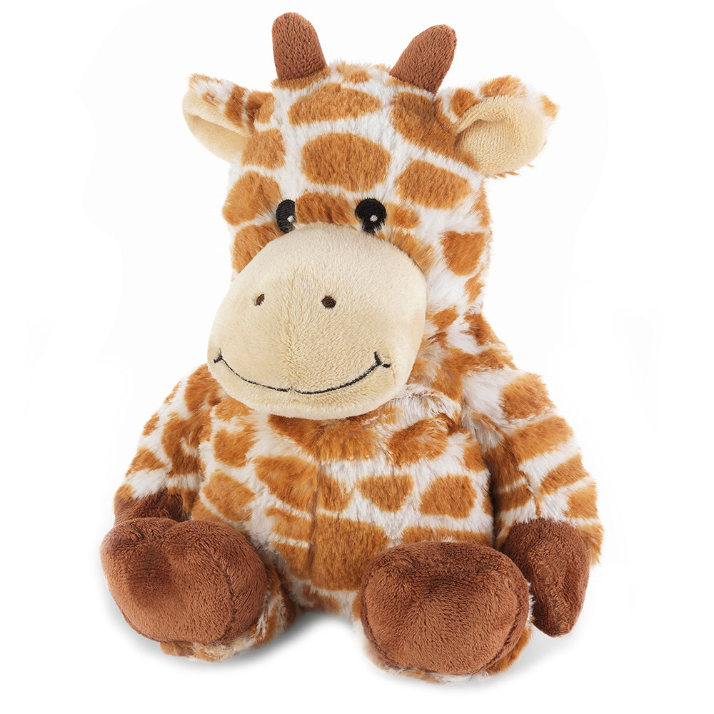 Warmies® Fully Microwaveable Plush Toy Giraffe, Heatable Soft Cuddly Teddy With Relaxing Lavender Scent