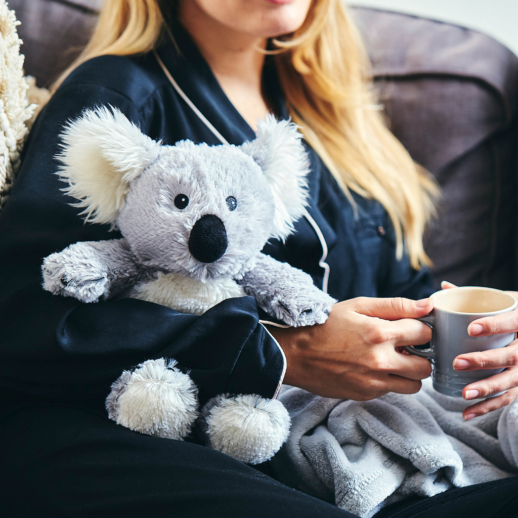 Warmies® Fully Microwaveable Plush Toy Koala, Heatable Soft Cuddly Teddy With Relaxing Lavender Scent
