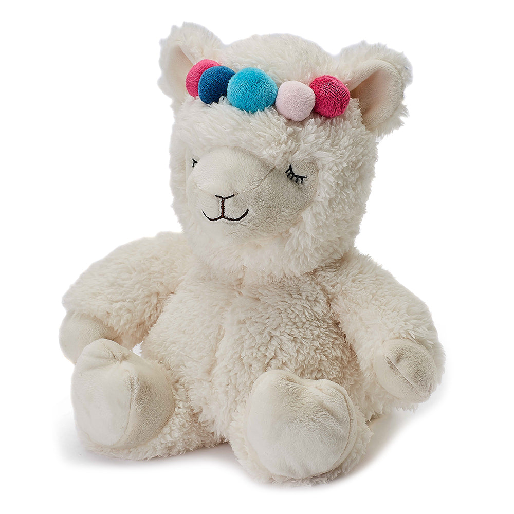 Warmies® Fully Microwaveable Plush Toy Llama, Heatable Soft Cuddly Teddy With Relaxing Lavender Scent
