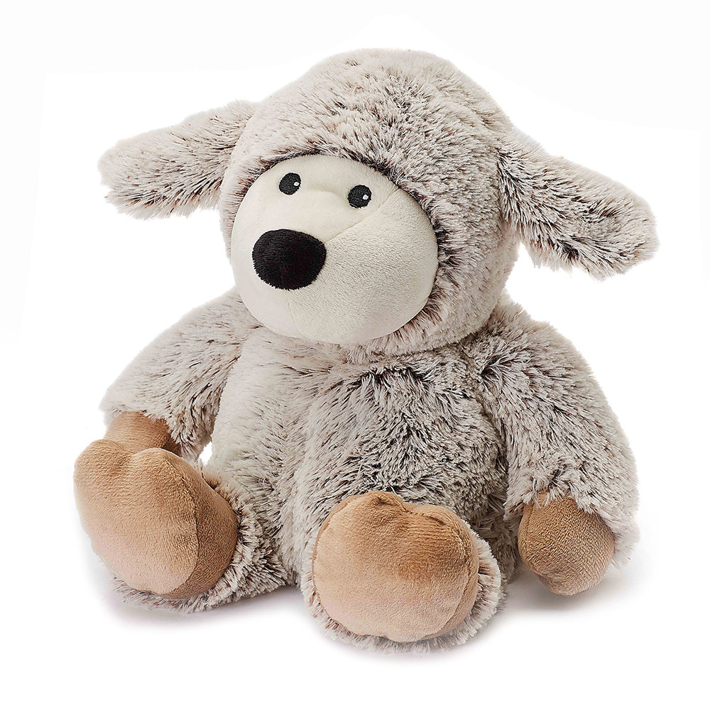 Warmies® Fully Microwaveable Plush Toy Marshmallow Sheep, Heatable Soft Cuddly Teddy With Relaxing Lavender Scent
