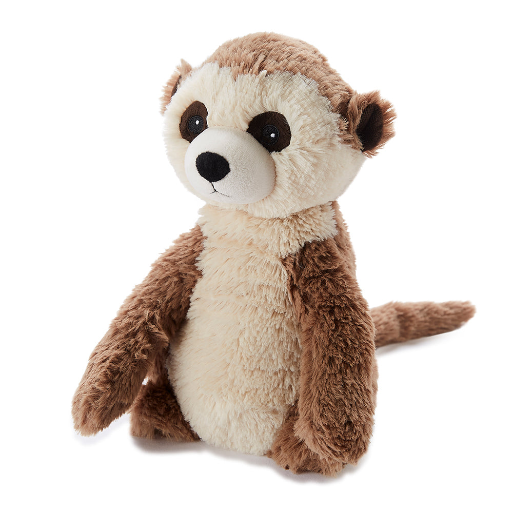 Warmies® Fully Microwaveable Plush Toy Meerkat, Heatable Soft Cuddly Teddy With Relaxing Lavender Scent