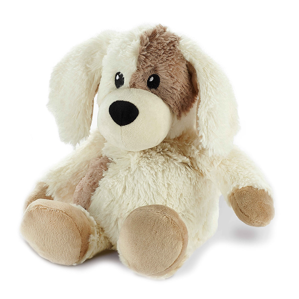 Warmies® Fully Microwaveable Plush Toy Puppy, Heatable Soft Cuddly Teddy With Relaxing Lavender Scent