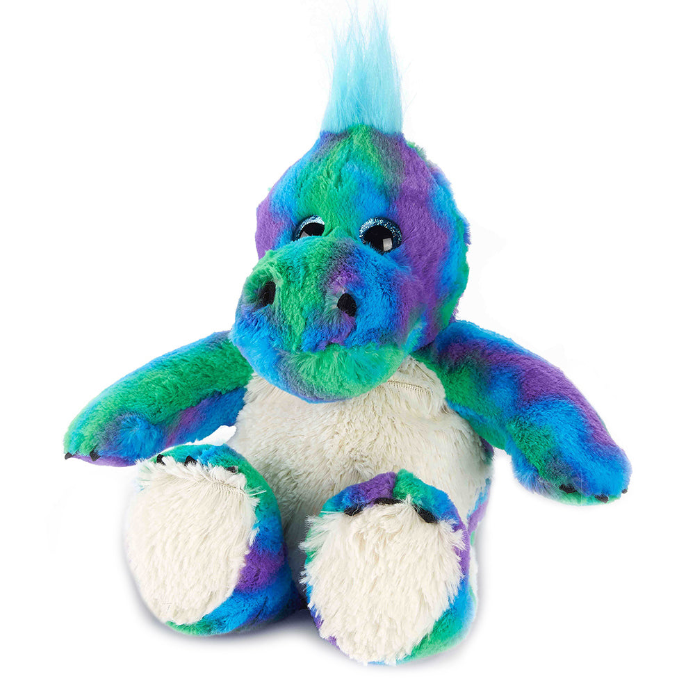 Warmies® Fully Microwaveable Plush Toy Rainbow Dinosaur, Heatable Soft Cuddly Teddy With Relaxing Lavender Scent