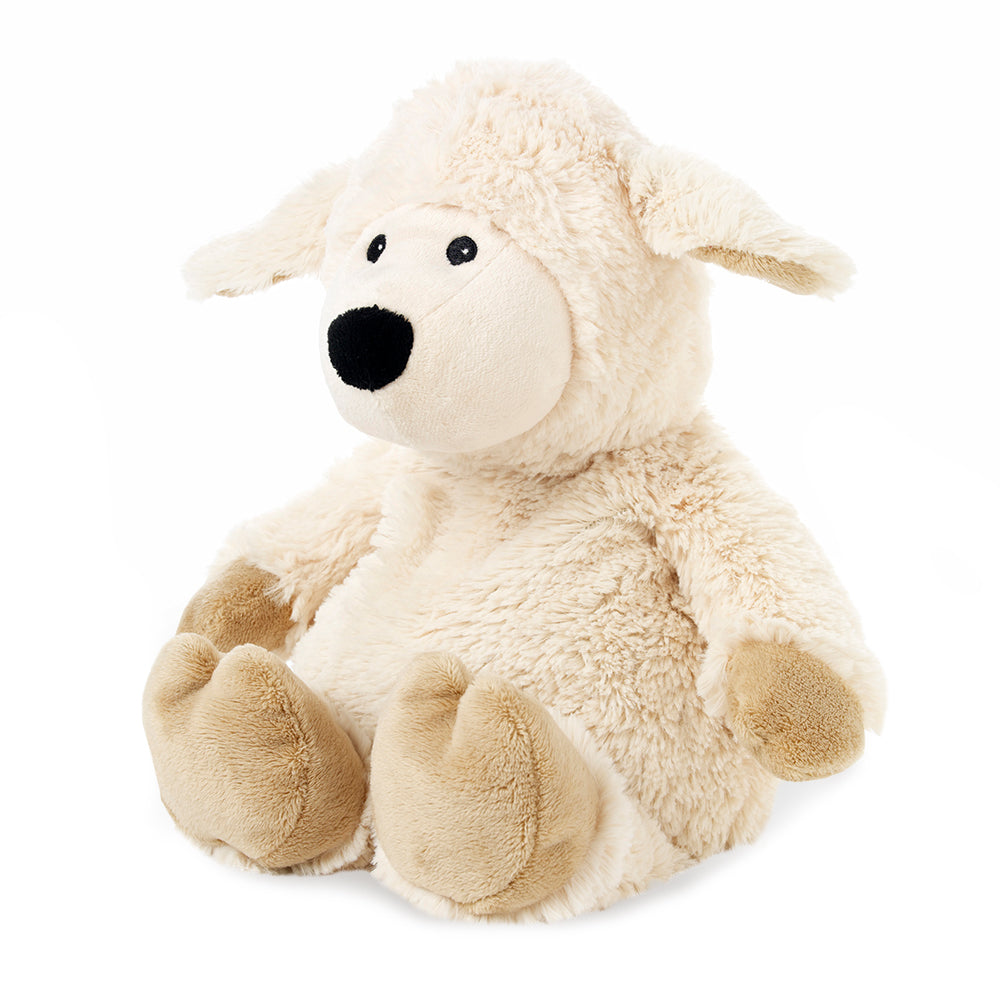Warmies® Fully Microwaveable Plush Toy Sheep, Heatable Soft Cuddly Teddy With Relaxing Lavender Scent