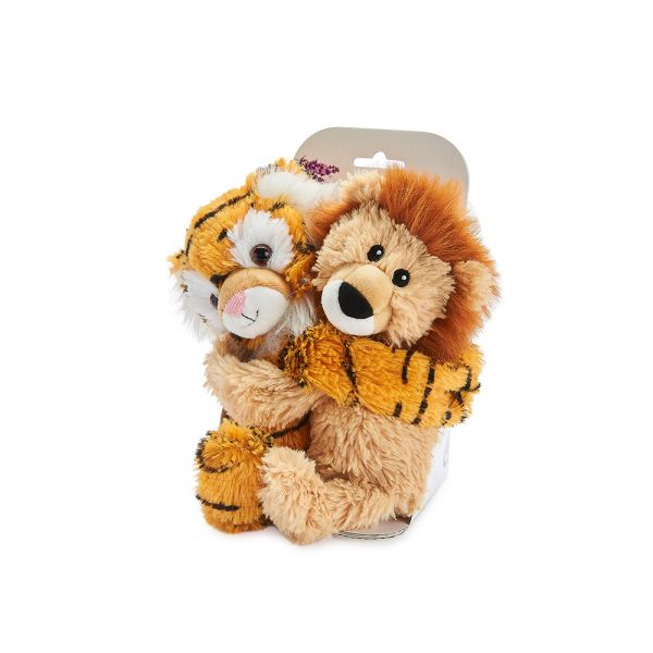 Warmies® Fully Microwaveable Warm Hugs Liger, Heatable Soft Cuddly Teddy With Relaxing Lavender Scent