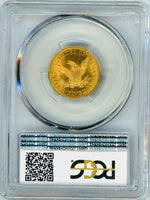 1844 $5 Gold Liberty Head PCGS MS 64
