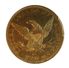 Load image into Gallery viewer, 1849-O $10 Liberty AU53 PCGS