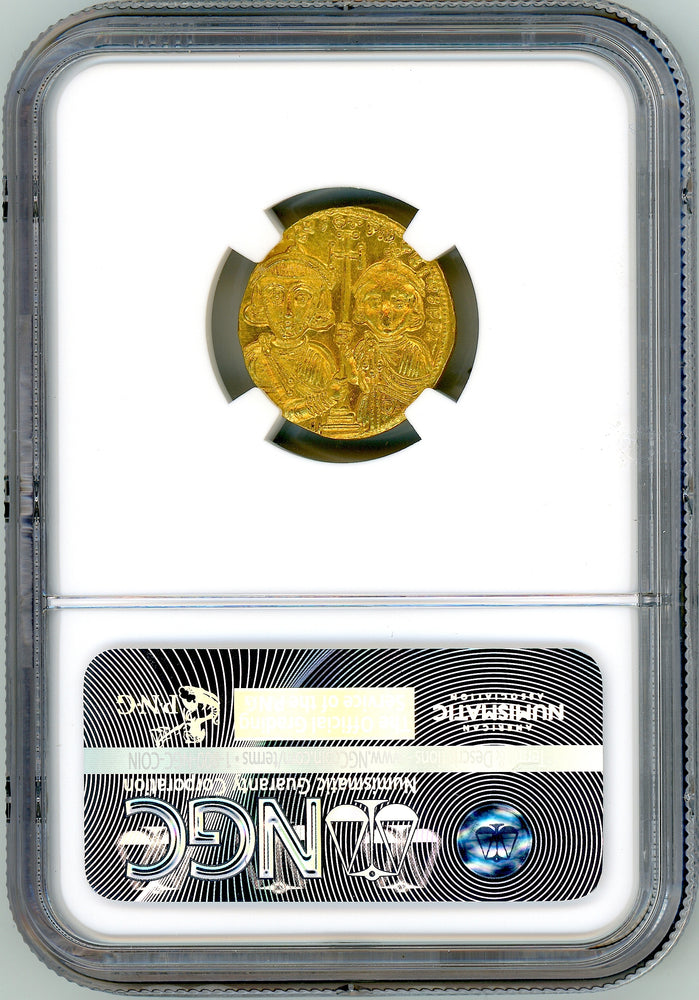 Load image into Gallery viewer, Byzantine Empire, Justinian II gold Solidus NGC CH MS
